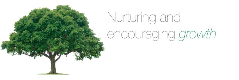 Nurturing and encouraging growth